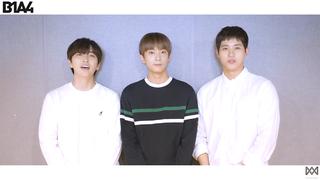 【動画】【w公式】 B1A4  、2018B1A4  が伝える秋夕の挨拶メッセージ