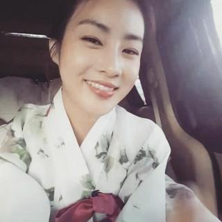 【g公式】女優カン・ソラ、楽しい秋夕お過ごしください〜  Have a rich Chuseok like a full moon〜。