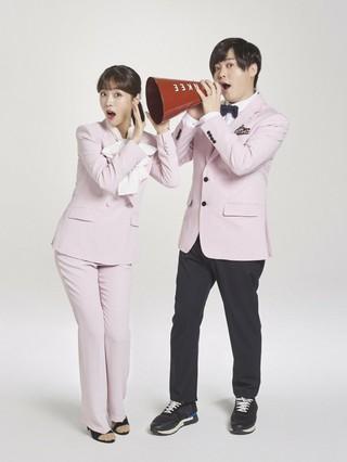ムン・ヒジュン ソユル(CRAYON POP)、アイドル夫婦が広告共演。 (2枚)