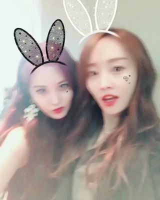 【動画】ニコル、SNS更新。「少女時代」ソヒョンと共に。