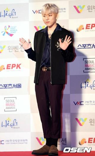 ジコ(Block B)、第26回ソウル歌謡大賞授賞式に出席。