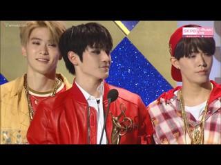 【動画】NCT 127、ソウル歌謡大賞「新人賞」受賞。授賞者はパク・ボゴム、キム・ジウォン。