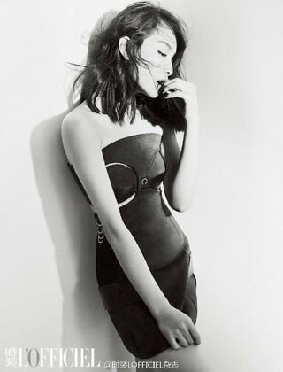 ビクトリア(f(x))、画報公開。中国ファッション雑誌「時装LOFFICIEL」で見せたセクシー美。