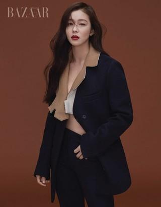 女優キョン・スジン、画報公開。雑誌「BAZAAR」。