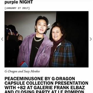 「BIGBANG」G-DRAGON、SNS更新~その3。