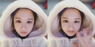 チャン・ナラ、SNS更新。韓国芸能界一の童顔美女。 (1枚)