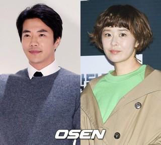 俳優クォン・サンウ、女優チェ・ガンヒ、ドラマ「推理の女王」出演。16年ぶりの共演。 (1枚)