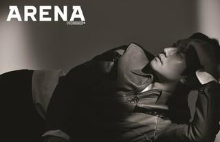 俳優チョンウ、画報公開。男性ファッション誌「ARENA」。