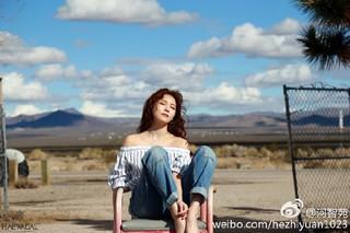 女優 ハ・ジウォン、SNS更新。雑誌「GRAZIA」ビハインド画報。 (3枚)