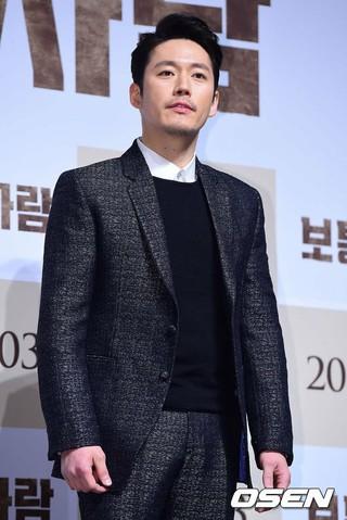 俳優チャン・ヒョク、映画「普通の人」制作報告会に参加。ソウル江南区(カンナムク)、狎鴎亭(アックジョン)CGV。