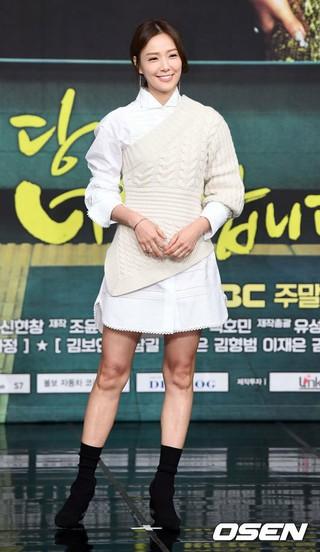 ソン・テヨン、新MBC週末ドラマ「あなたはひどいです」の制作発表会に出席。