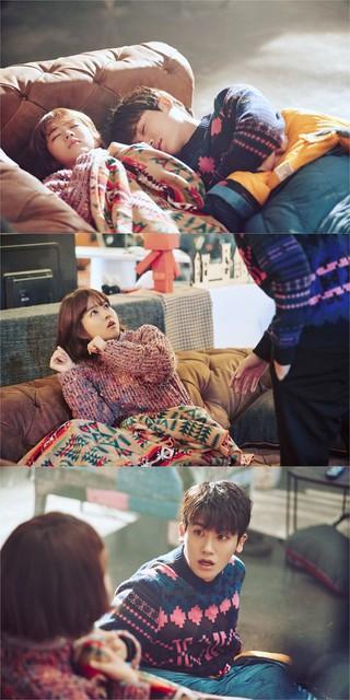 パク・ボヨンとZE:A ヒョンシク、出演ドラマ「力の強い女ト・ボンスン」の撮影現場スチールカット公開。 (1枚)