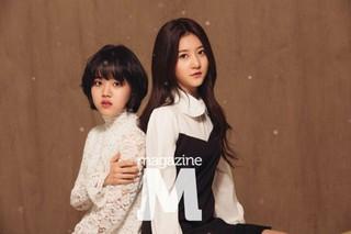 女優キム・セロン、キム・ヒャンギ 画報公開。雑誌「magazine M」。