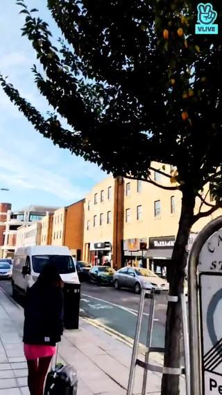 【動画】【w公式】 UP10TION  、「ロンドンの通り」VLIVE公開。