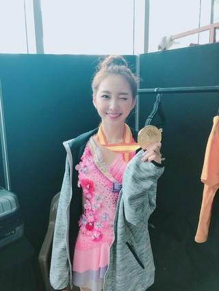 ELRIS ユギョン、アイドル陸上大会・リズム体操(新体操)で優勝。初出場ながら、APRILナウン、MOMOLANDデイジー、宇宙少女のヨルムらをおさえての1位。「たくさんの方に支