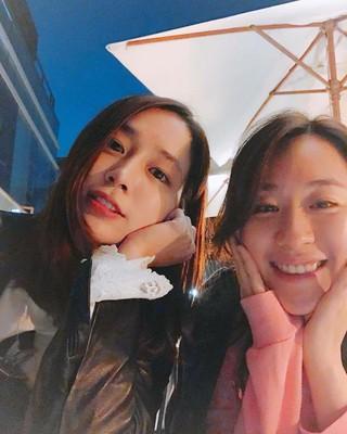 【g公式】女優イ・ミンジョン、SNS更新。5歳の幼稚園からずっと一緒の友人。とても強い縁で結ばれた30年来の友人。