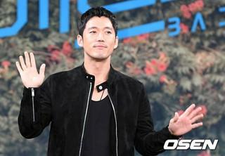 俳優チャン・ヒョク、MBCの新月火ドラマ「バッドパパ」の制作発表会に出席。28日午後、ソウル・MBC上岩(サンアム)新社屋。
