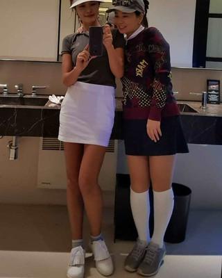 【g公式】女優ファン・ジョンウム、ジニョン姉さんとの2ショット公開。