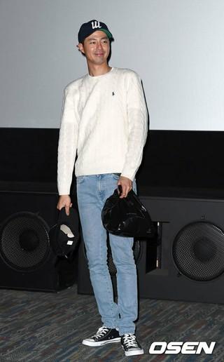 俳優チョ・インソン、映画「安市城」の舞台挨拶に出席。3日午後、メガボックスCOEX。
