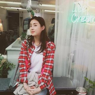【g公式】女優カン・ソラ、 休日の過ごし方を公開。●ソウル延南洞(ヨンナムドン)のアイスクリーム屋