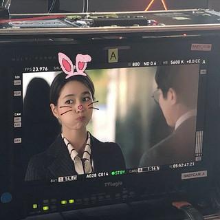 【g公式】「ビョン様夫人」女優イ・ミンジョン、キュートな写真を公開。