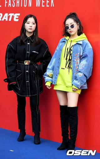 LADIES' CODE、2019S/S HERA SEOUL FASHION WEEK「VIBRATE」コレクションに出席。16日午前、ソウル東大門DDP。
