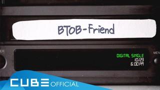 【動画】【w公式】 BTOB 、「Friend」のAudio teaserを公開。