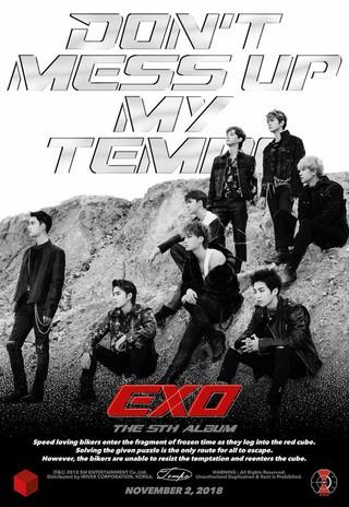 """""""王の帰還""""EXO、11月2日午後6時に5thフルアルバム音源を発表。"""