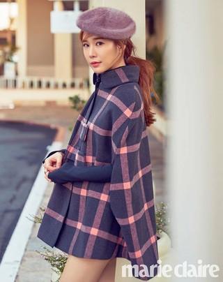 女優ユ・インナ、画報公開。marie claire。