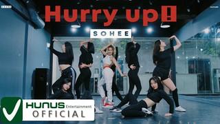【動画】ELRIS ソヒ、「Hurry up」(feat.赤頬思春期)Dance practice video  公開。