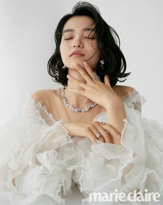 女優キム・テリ、画報公開。marie claire。追加分。