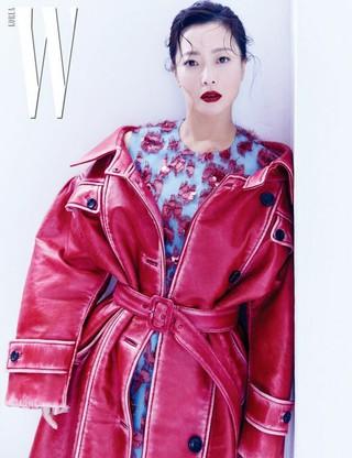女優キム・ヒソン、画報公開。W KOREA。