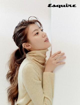 女優ナム・ジヒョン、画報公開。Esquire。