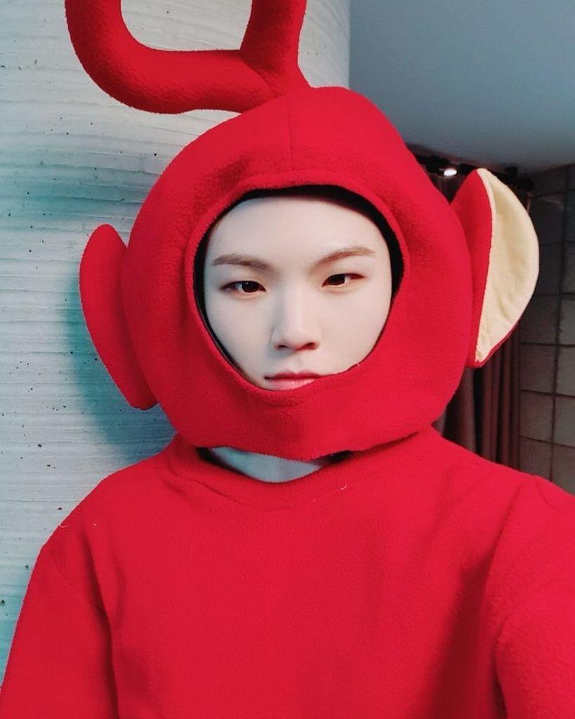 【G公式】SEVENTEEN_ウジ、仮装姿公開。 | 韓流速報