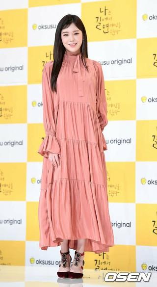 AFTERSCHOOL 出身リジことパク・スア、oksusuオリジナルドラマ「私は道で芸能人を拾った」の制作発表会に出席。