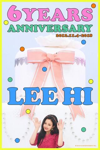 【t公式yg】イ・ハイ LEEHI、デビュー6周年。●6 Years Anniversary