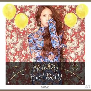 【動画】【t公式sm】BoA、11月5日は32歳のバースデー。「HappyBoADay」。