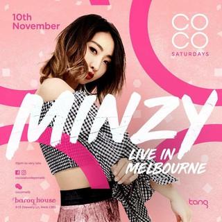 【g公式】2NE1_出身MINZY、メルボルン公演告知ポスター公開。