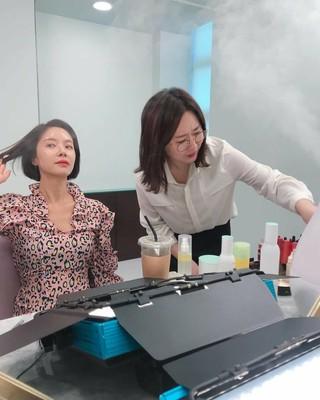 【g公式】女優ファン・ジョンウム、近況公開。