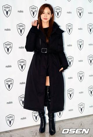 女優ソン・ユリ、ファッションブランド「nobis」のイベントに出席。