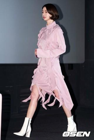 HELLOVENUS ナラ、映画「少女の世界」のマスコミ配給試写会に出席。13日午後、CGV龍山。
