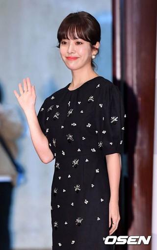 女優ハン・ジミン、「第38回韓国映画評論家協会賞」授賞式に出席。13日午後、ソウル・プレスセンター。