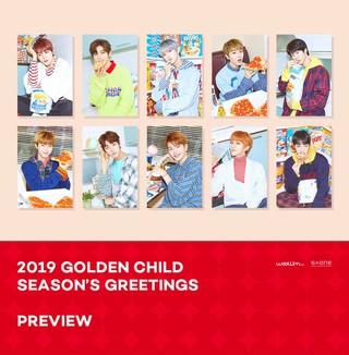 【T公式】Golden Child、2019 GOLDEN CHILD SEASON&#39&#59;S GREETINGS PREVIEW公開。