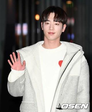 俳優ソ・ガンジュン、ドラマ「第3の魅力」打ち上げに参加。17日午後、ソウル・汝矣島の飲食店。