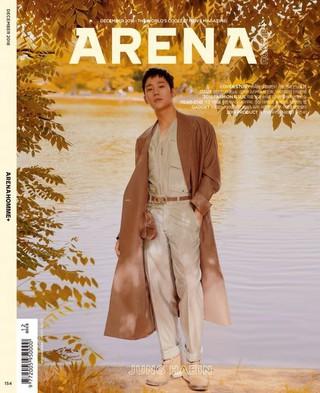 俳優チョン・ヘイン、画報公開。ARENA HOMME+。