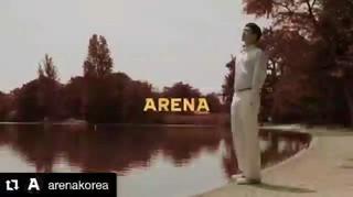 【G公式】俳優チョン・ヘイン、動画公開。「ARENA KOREA」12月号。