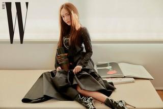 少女時代 出身 ジェシカ、画報を公開。。雑誌「W Korea」x ブランド「Editions de Parfums Frederic Malle」