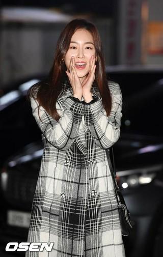女優ソ・ヒョンジン、JTBCドラマ「ビューティー・インサイド」打ち上げに参加。21日午後、ソウル・汝矣島の飲食店。