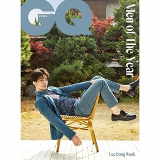 【G公式】俳優イ・ドンウク、写真公開~その4。「GQ KOREA」。