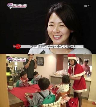クリスマスシーズン。「SHIHOの勘違い」が何故か今、韓国で話題。●(サンタに変身すると)子供たちが喜ぶと思いました。●結果は。。夫の秋山と「三つ子パパ」俳優ソン・イルグク が
